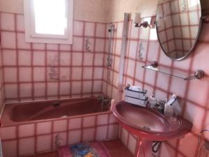 Salle de bain avant notre intervention.
